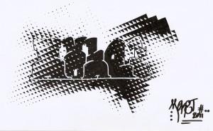 Les noir et blanc  dans Graffs aboutis ou presque numeriser0008-300x184
